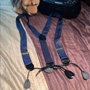 Suspenders for men , silk